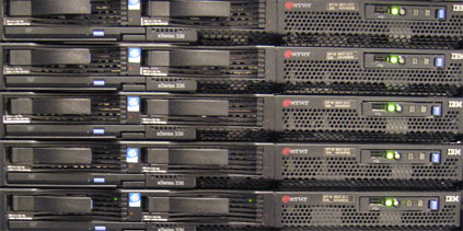 Server Farm - via Flickr (Jemimus)