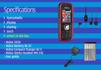 Nokia 5030 kit