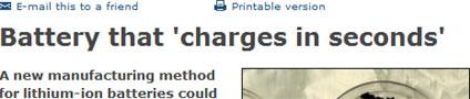 BBC headline