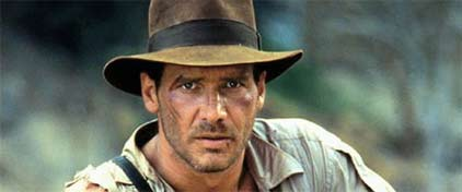 Indiana Jones, image courtesy Daily Mail Online