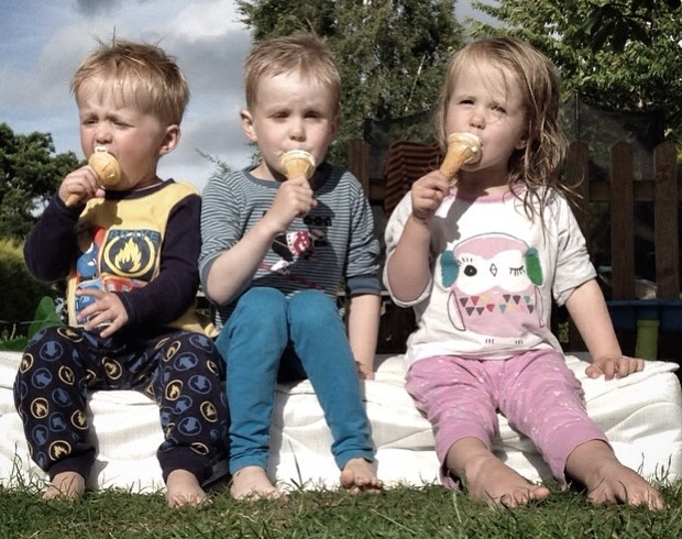 Henry-Maddie-Ollie-Ice-Cream-2015